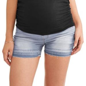 Pregnant Women Summer Maternity Support Belt Skinny Short (Best Skinny Jeans For Short Women)