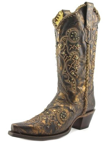 Corral R1217 Women   Pointed Toe Leather  Women Western Boot 148b4e