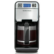 Best Electric Coffee Makers - Hamilton Beach 46205 12-Cup Programmable Coffee Maker, Stainless Review