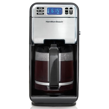 Hamilton Beach 12 Cup Digital Automatic LCD Programmable Coffeemaker Brewer | Model# 46205 Ace Automatic Coffee Maker