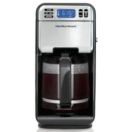 Hamilton Beach 12 Cup Digital Automatic LCD Programmable Coffeemaker Brewer | Model# 46205
