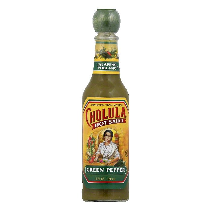 Cholula Green Pepper Hot Sauce, 5 Oz (Pack of 12) by