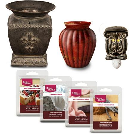 Better Homes Gardens Bhg Wax Warmer Set