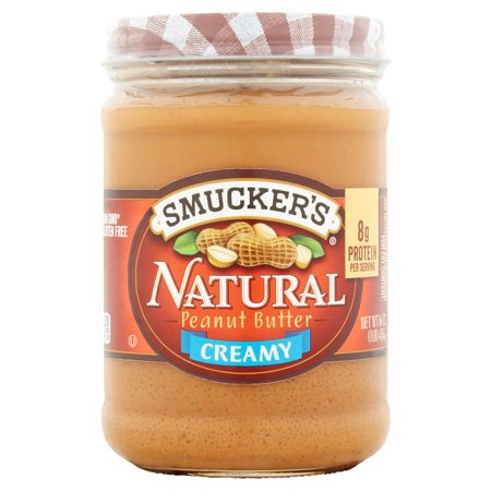 Smucker S Natural Peanut Butter Creamy Oz