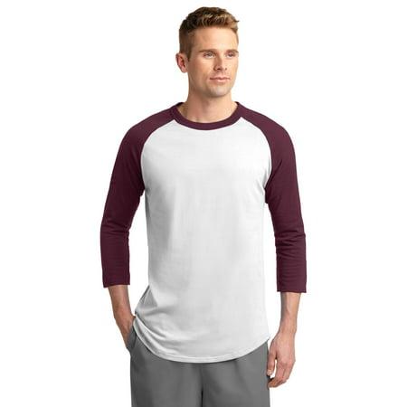 T200 Sport-Tek Men's Softball Shirt Colorblock Raglan