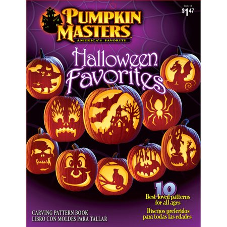 Pumpkin Masters Pumpkin Carving Pattern Book Walmart Magnificent Pumpkin Carving Pattern