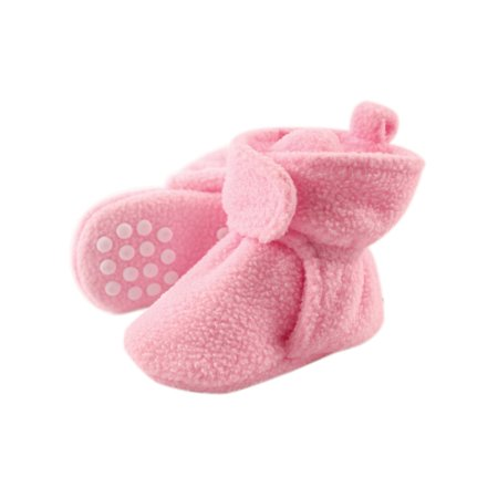 Fleece Lined Non-Skid Soft Sole Booties (Baby & Toddler Girls) Infant Girl Booties