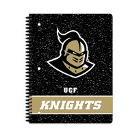 NCAA Central Florida Golden Knights 1 Subject Notebook, 70 Sheets, College Rule