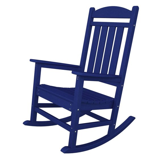 Wondrous Polywood Presidential Recycled Plastic Rocking Chair Lamtechconsult Wood Chair Design Ideas Lamtechconsultcom