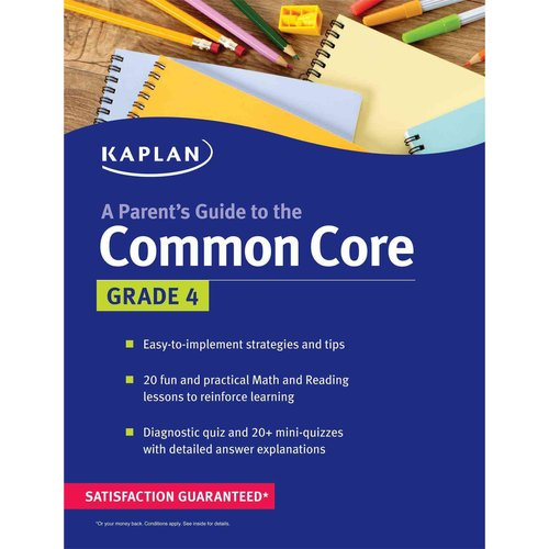 Kaplan a Parent's Guide to the Common Core: Grade 4