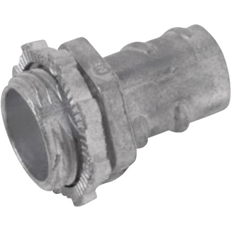 Steel City Screw-In Armored Cable/Flexible Metallic Conduit Connector