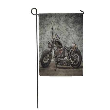 SIDONKU Harley Motorcycle Cool Davidson Vintage Bike Classic Chopper Motorbike Garden Flag Decorative Flag House Banner 28x40 inch