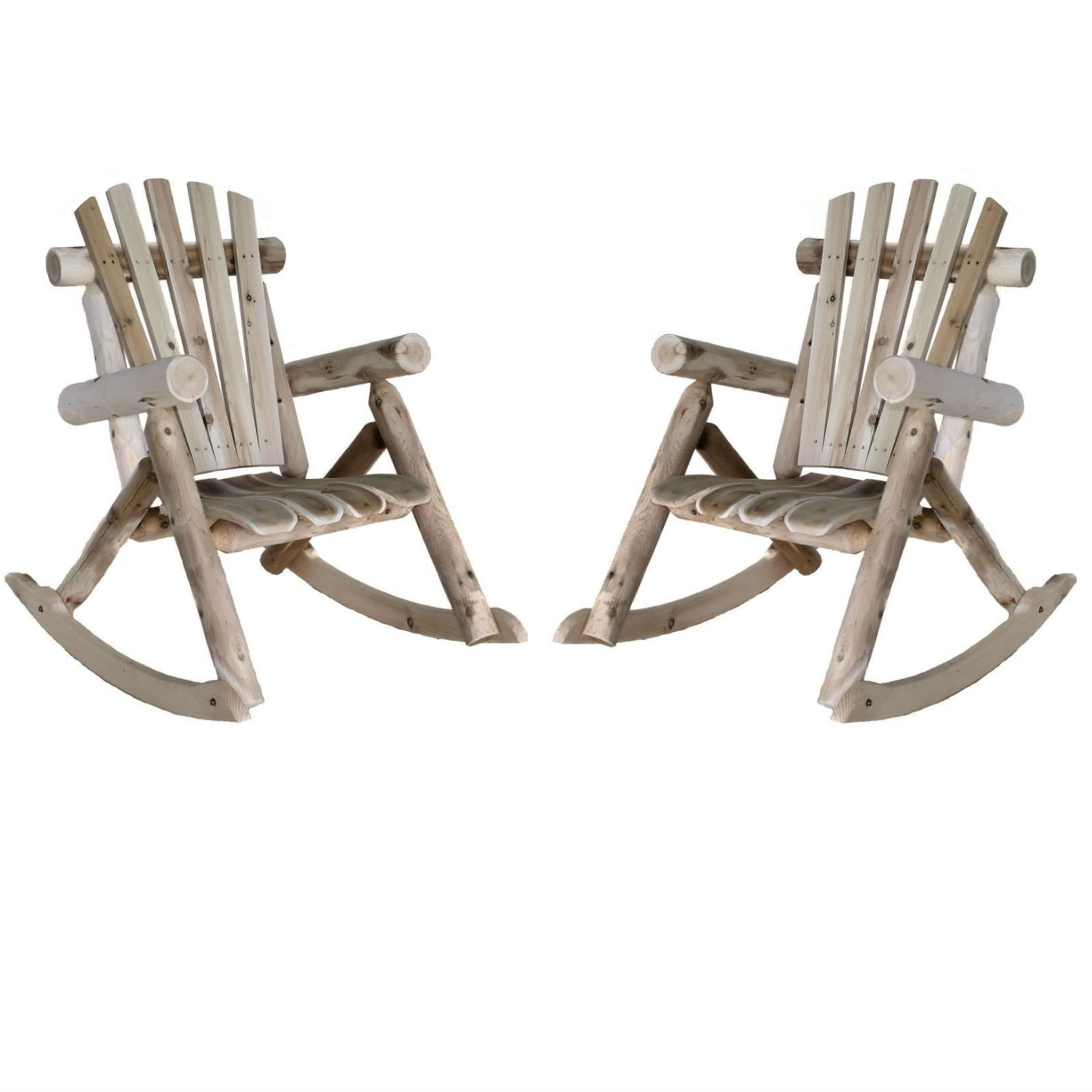 Lakeland Mills Patio Rocking Chair (Set of 2)