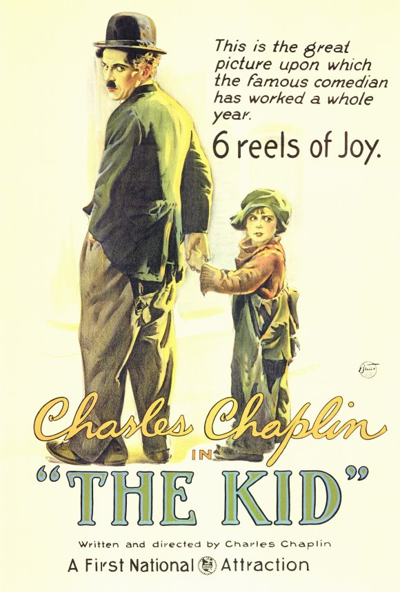 The Kid (1921) 27x40 Movie Poster by Pop Culture Graphics