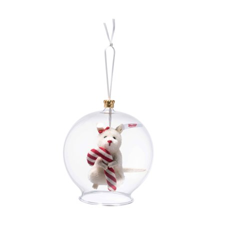Steiff Candy Cane Mouse In Bauble Limited Edition Ornament EAN 006296