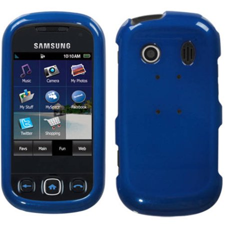 Samsung M350 Seek Mybat Protector Case Solid Dr Blue Walmart Com