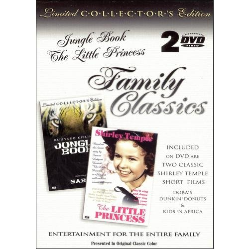 Family Classics: Jungle Book The Little Princess by