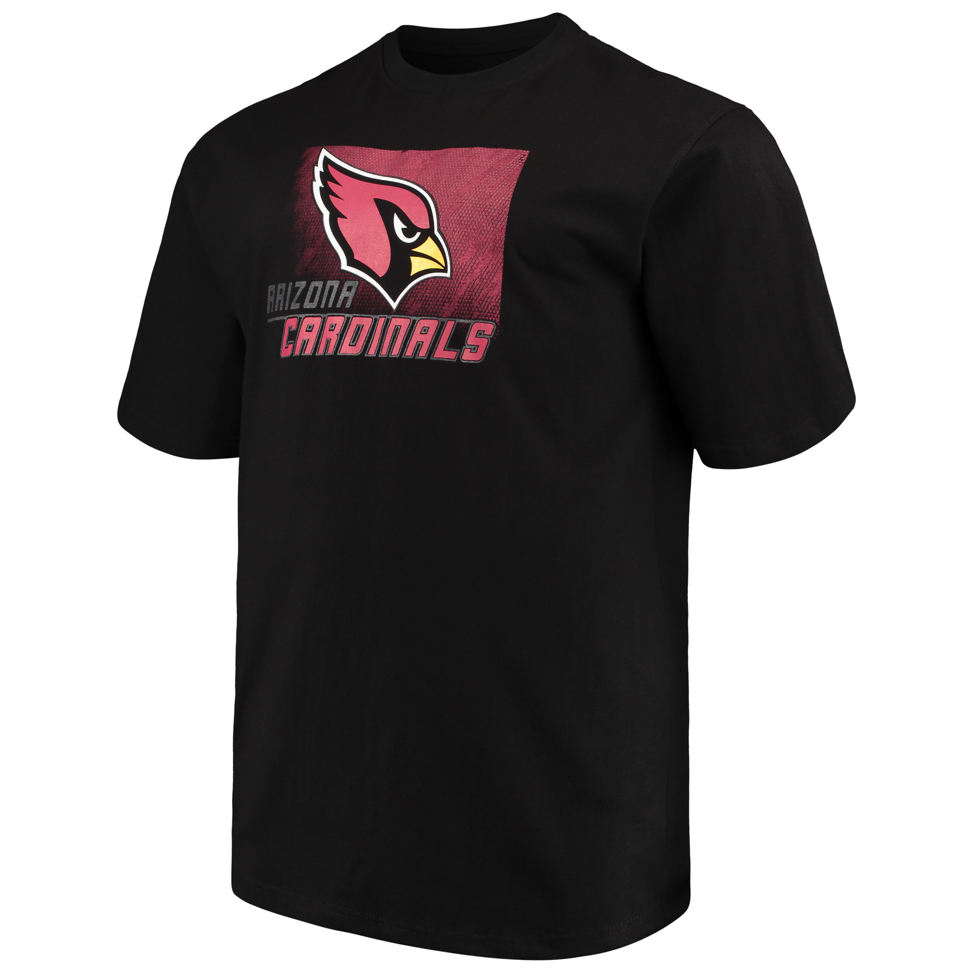 Men's Majestic Black Arizona Cardinals Big & Tall Reflective T-Shirt