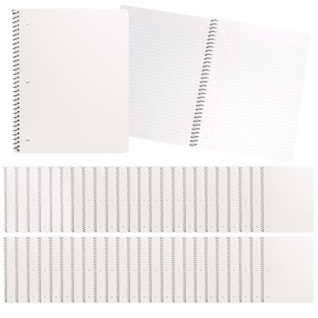 Sweda (24 Pack) Spiral Notebook College Ruled Perforated Paper 70pg Journal For Women Men Notebooks Bulk Office Supplies