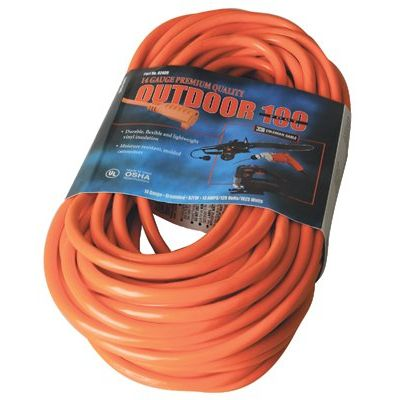 100' 14/3 Sjtw-A Red Extcord 300V