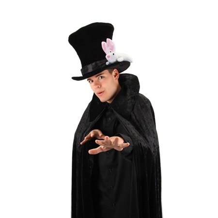 Magician with Rabbit Adult Costume Top Hat - Magician Hat