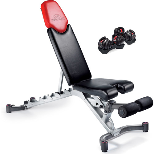 Bowflex 5.1 Weight Bench with Bowflex SelectTech 552 Dumbbells Value Bundle