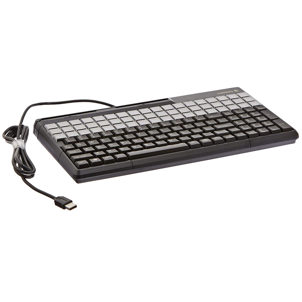 "Cherry G86-61411EUADAA 14"" SPOS USB Keyboard with 123 Position Key Layout"