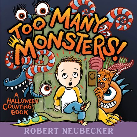 Too Many Monsters! : A Halloween Counting Book](Halloween Monster Songs For Kids)