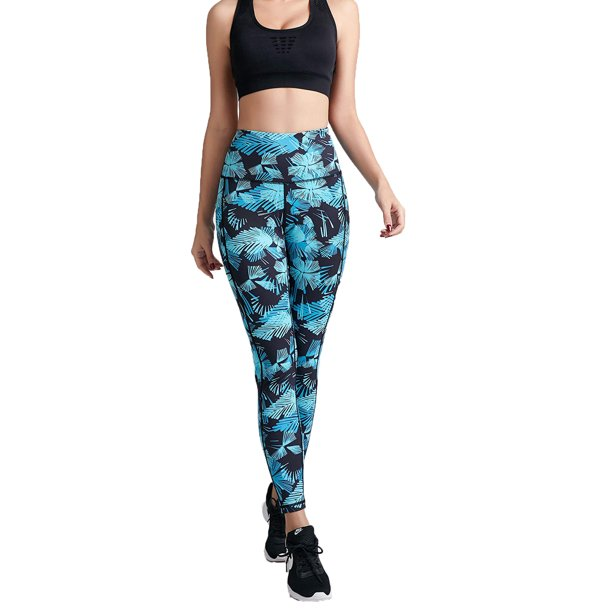 UKAP - UKAP Fitness High Waist Yoga Compression Leggings For