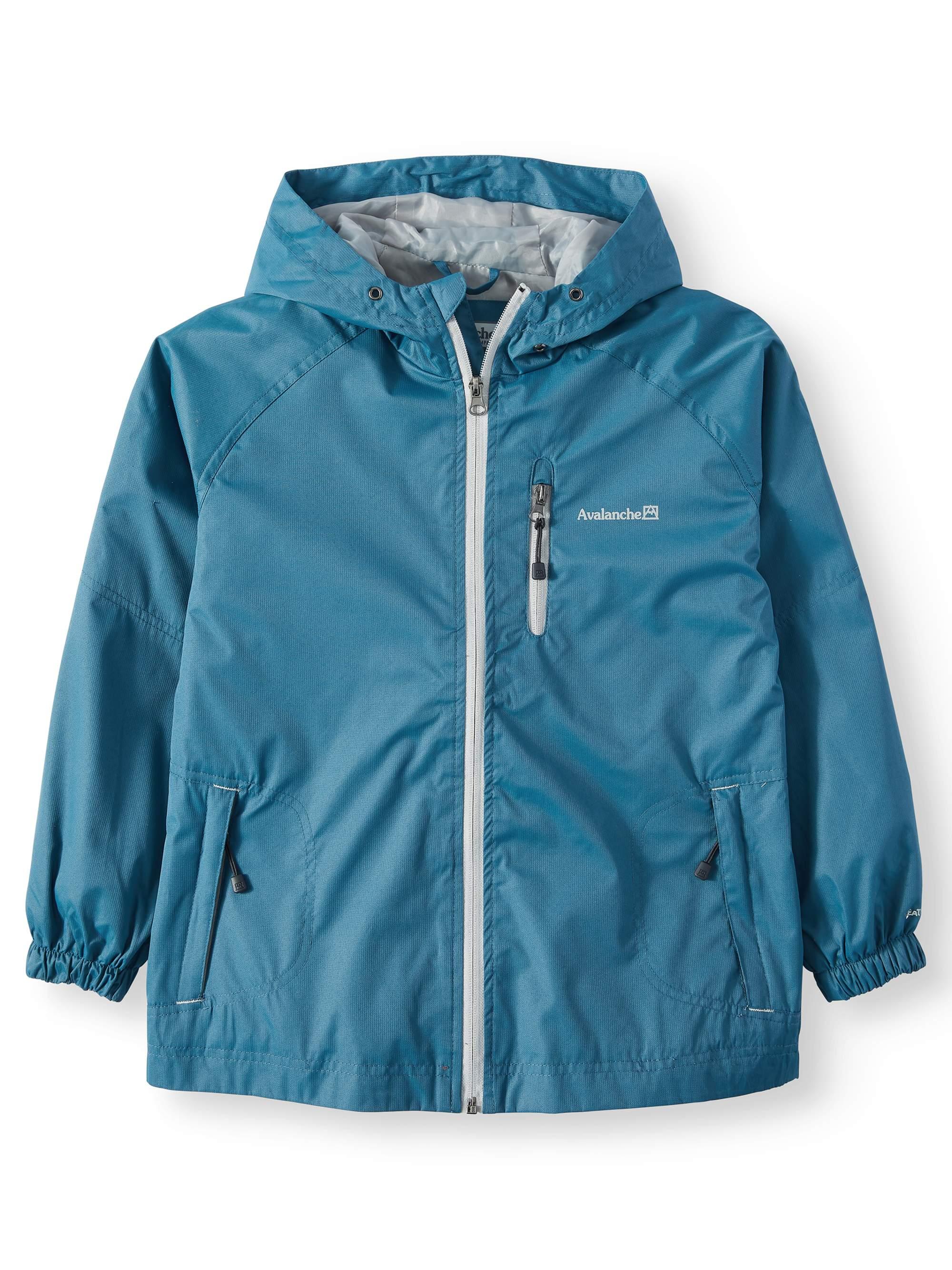 Big Boys' Zip Up Sentinel Rain Shell Jacket