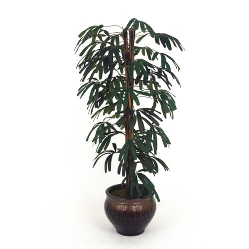 5.5-foot Silk Raphis Palm Tree