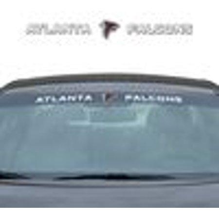"Atlanta Falcons DECAL - Windshield 35""x4"" - image 1 of 1"