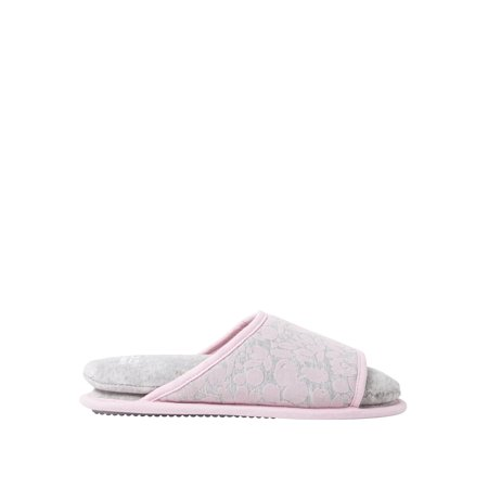 DF by Dearfoams Women's Cloud Step Slide Slippers slippers ()