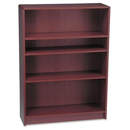 "Hon 1890 Series Mahogany Laminate Bookcase - 36"" Width X 11.5"" Depth X 48.8"" Height - Radius Edge - Hardwood, Particleboard, Wood, Hardboard - Henna Cherry, Mahogany (1894n)"