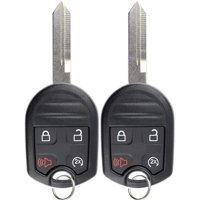 Keyless Entry Remote Car Key Fob Replacement for Ford CWTWB1U793 (Pack of 2)