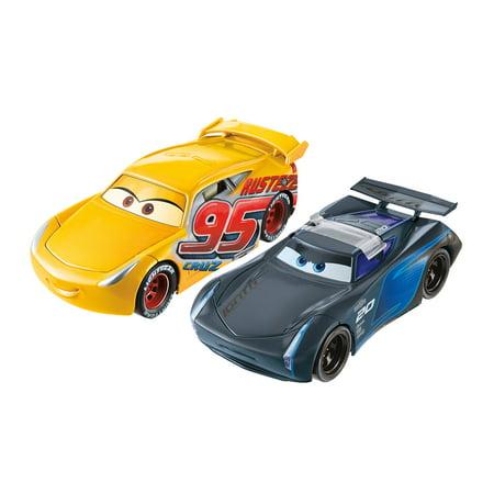 Disney Pixar Cars 3 Flip To The Finish Rust Eze Cruz Ramirez   Jackson Storm Vehicles