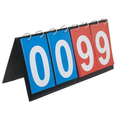 Diy Scoreboard (GOGO 4-digital Portable Table Top Scoreboard / Score Flipper)