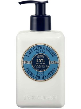 L'Occitane Shea Butter Ultra Rich Body Lotion, 8.4 Oz