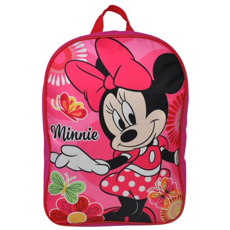 Girls Minnie Mouse Backpack 15