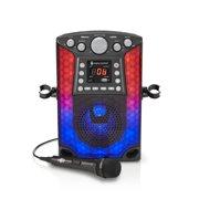 The Singing Machine SML633 Bluetooth CD+G Karaoke System, Black