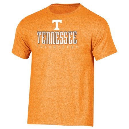 Men's Russell Tennessee Orange Tennessee Volunteers Basic Logo Crew Neck (Tennessee Mens Shorts)