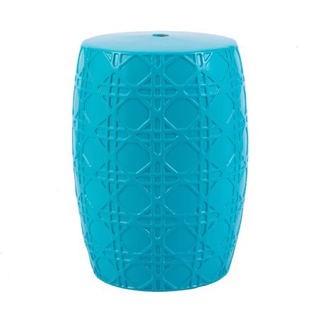 Stupendous Blue Ceramic Garden Stool D12 5X17 Gamerscity Chair Design For Home Gamerscityorg