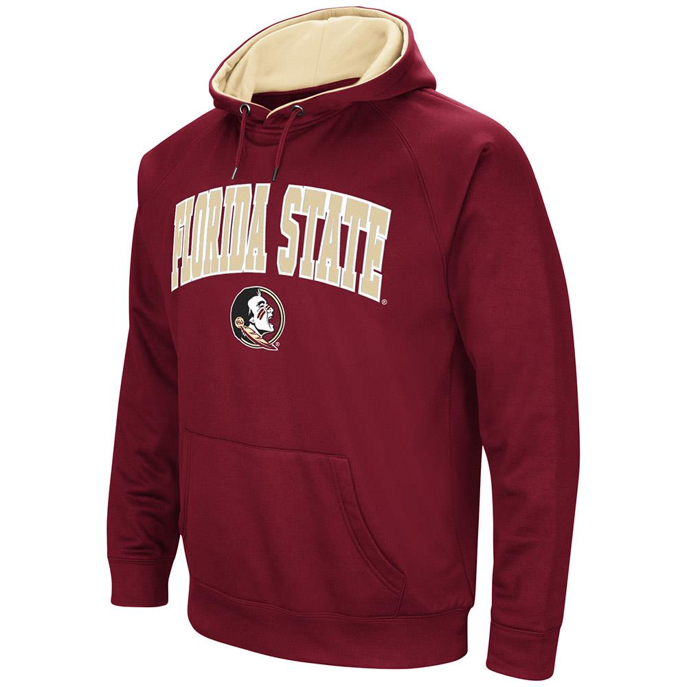 Mens Florida State Seminoles Fleece Pull-over Hoodie by Colosseum