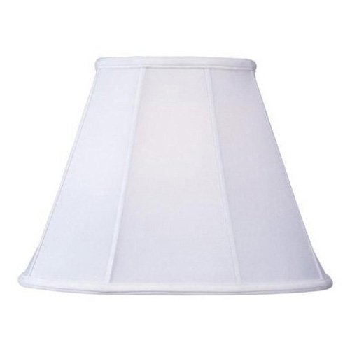 Livex S509 Shantung Silk Empire Lamp Shade in White