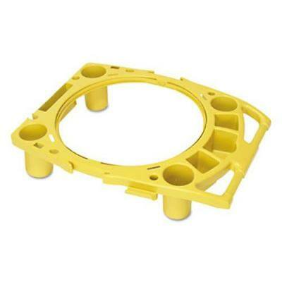 Brute Rim Caddy (Rubbermaid 9W87 Rim Caddy for 44 Gallon Brute Containers, Yellow )