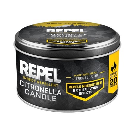 Repel Insect Repellent Citronella Candle, Silver, - Multivet Citronella Spray