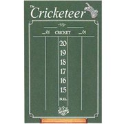 Large Cricketeer Dart Chalkboard