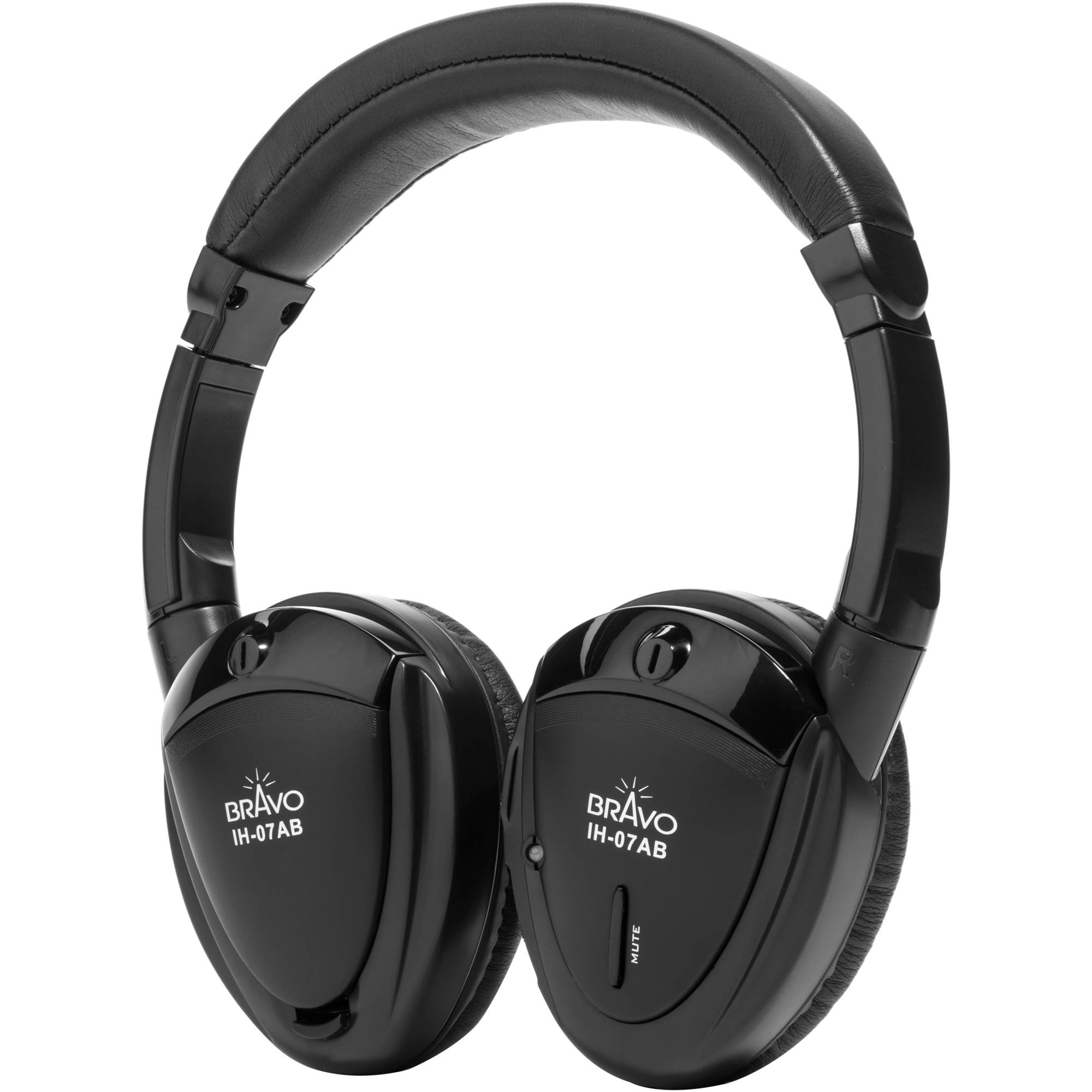 Bravo View IH-07AB DUAL SOURCE Automotive IR Wireless Headphones