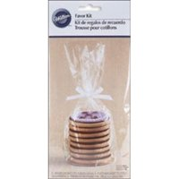 (3 Pack) Wilton Cookie Treat Bag Plate Kit, 8 Ct