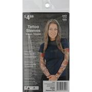 ee3763dd1 Dragon Realistic-Look Tattoo Sleeves Adult Halloween Costume Accessory  Image 2 of 2